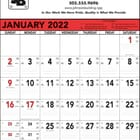 ON SALE-Commercial Memo Calendar